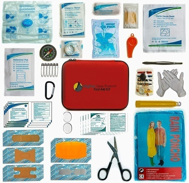 Higher Gear Products First Aid Kit 1