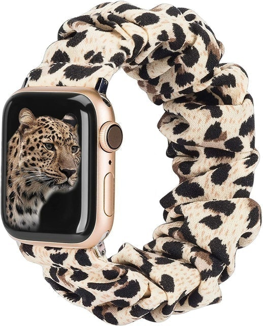 Toyouths Compatible with Apple Watch Band Scrunchies 1