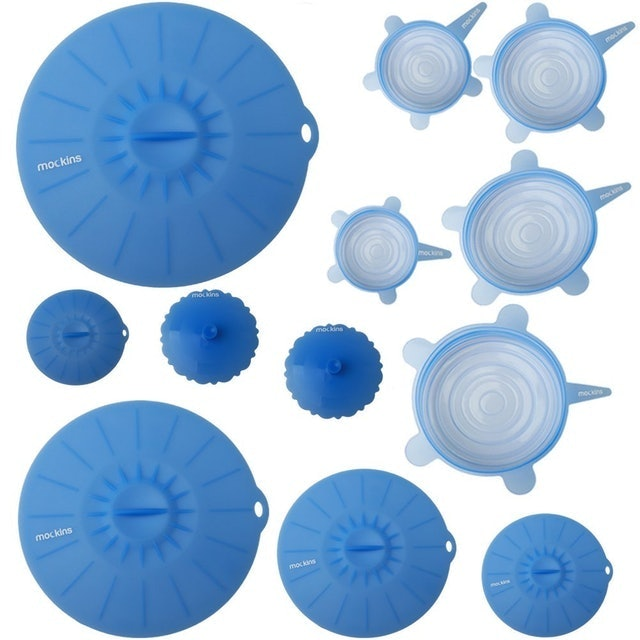 Mockins Silicone Stretch and Suction Lids 1
