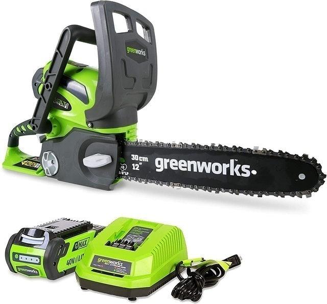 Greenworks 40V Cordless Chainsaw 1