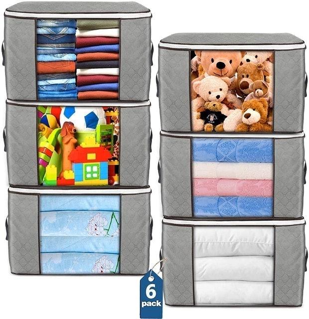 Budding Joy Foldable Storage Bags 1