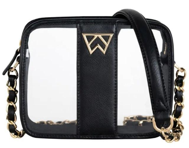Kelly Wynne Clear Mingle Mingle Mini Crossbody Bag 1
