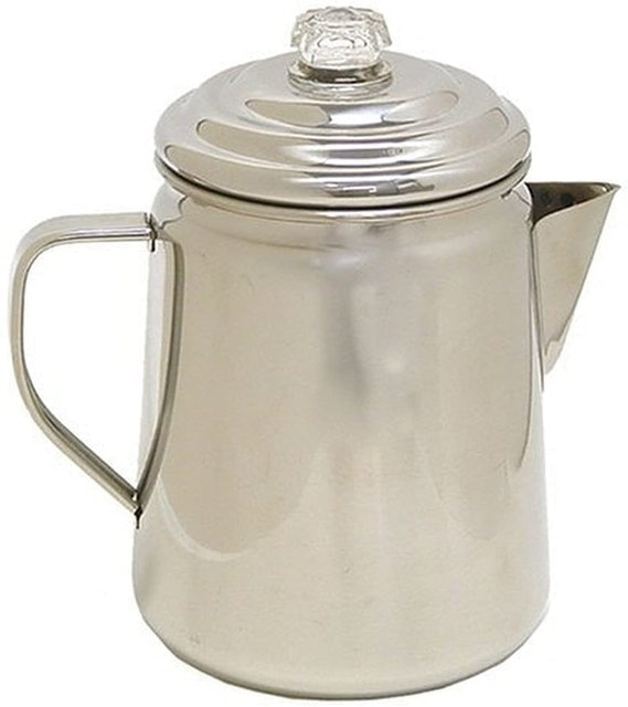 Coleman 12-Cup Stainless Steel Coffee Percolator 1