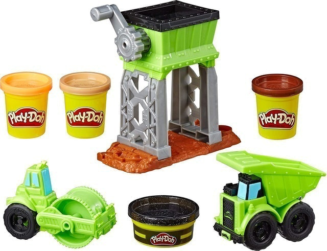 Play-Doh Gravel Yard Construction Toy 1