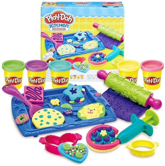 Play-Doh Sweet Shoppe Cookie Creations 1