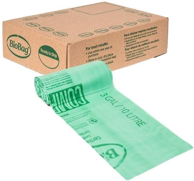 Biobag  Compostable Countertop Food Scrap Bags 1