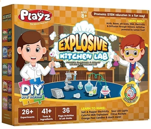 Playz Explosive Kitchen Lab 1