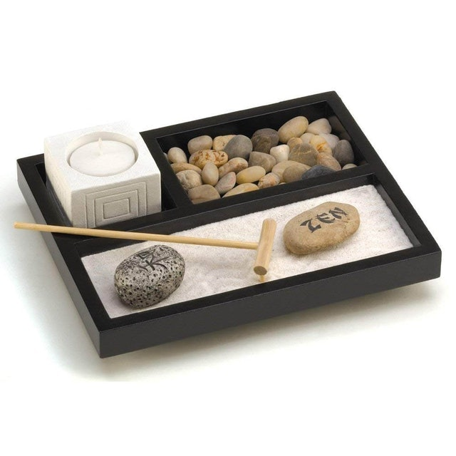 Gifts & Decor Tabletop Zen Garden Kit 1