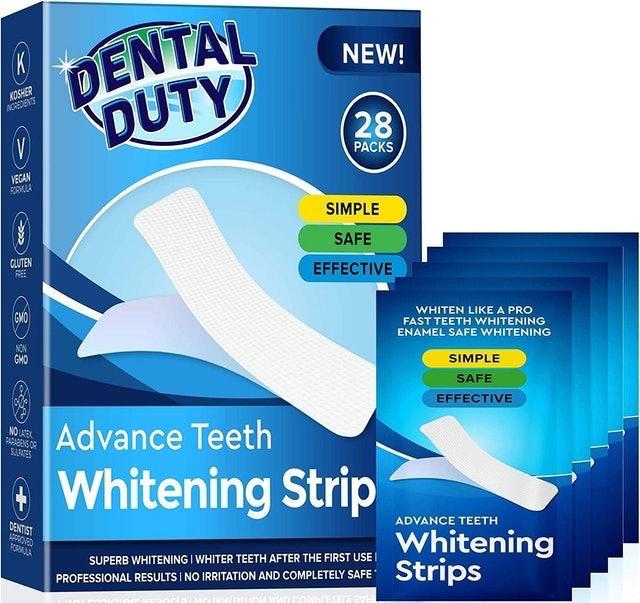 Dental Duty  Advance Teeth Whitening Strips 1