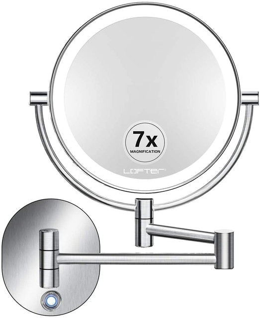 LOFTER Wall-Mounted Makeup Mirror 1