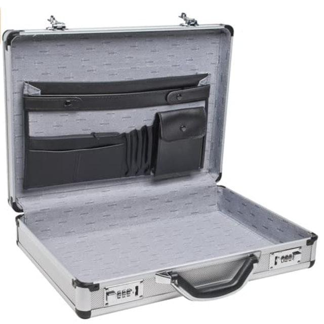 RoadPro Aluminum Briefcase 1