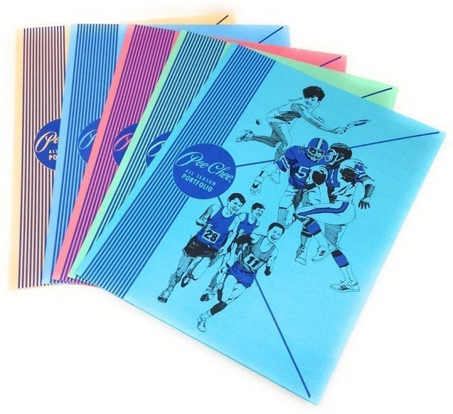 Mead Color Talk Peechee Folder 1