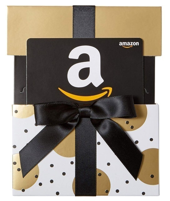 Amazon Gift Card in a Gold Reveal 1