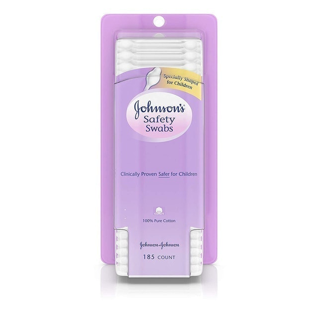 Johnson's Baby Safety Swabs 1