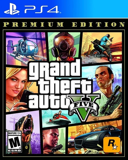 Rockstar Games Grand Theft Auto V Premium Edition 1