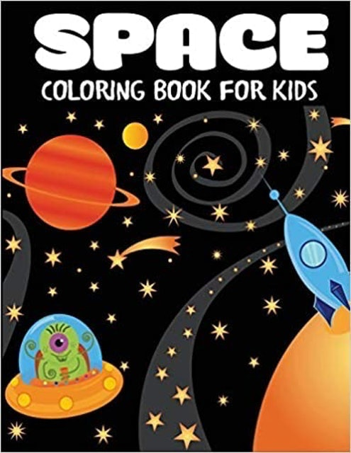 Blue Wave Press Space Coloring Books for Kids 1