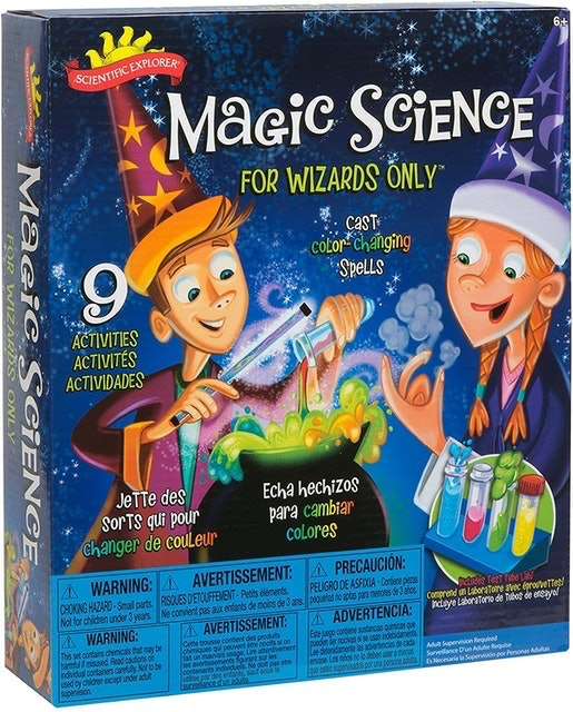 Magic Sets ALEX Toys Magic Science for Wizards Only 1
