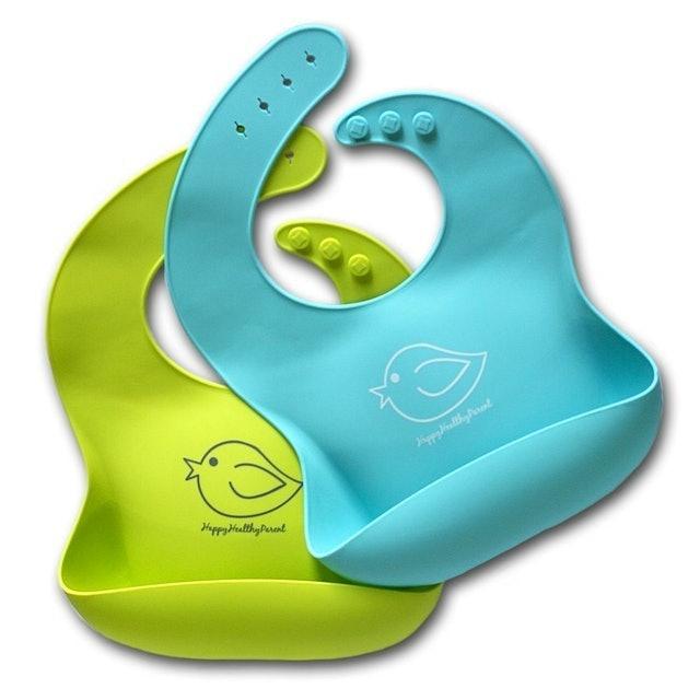 Happy Healthy Parent  Silicone Baby Bibs  1