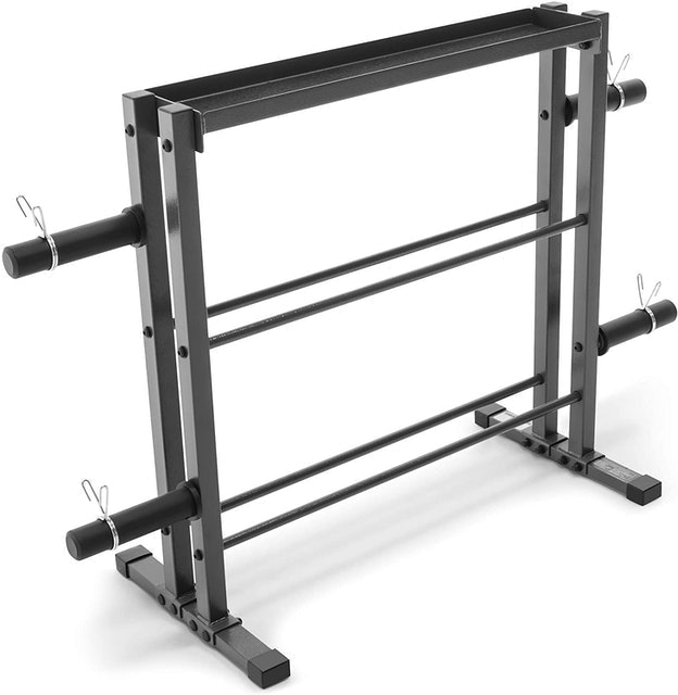 Marcy Combo Weights Storage Rack 1