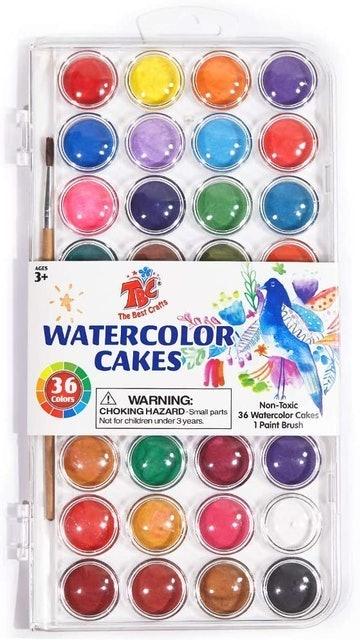 TBC The Best Crafts Portable Watercolor Paint Set 1