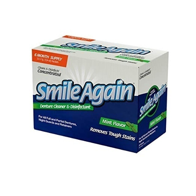 Smile Again Retainer Cleaner and Disinfectant 1