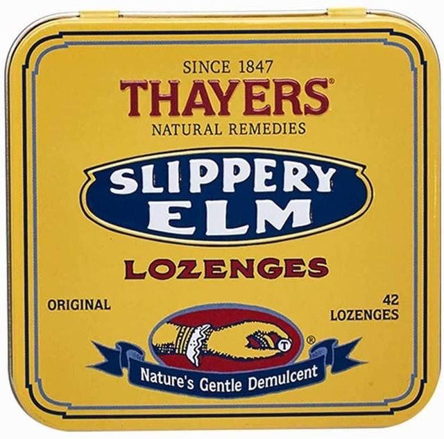 Thayers Slippery Elm Lozenges (Original) 1