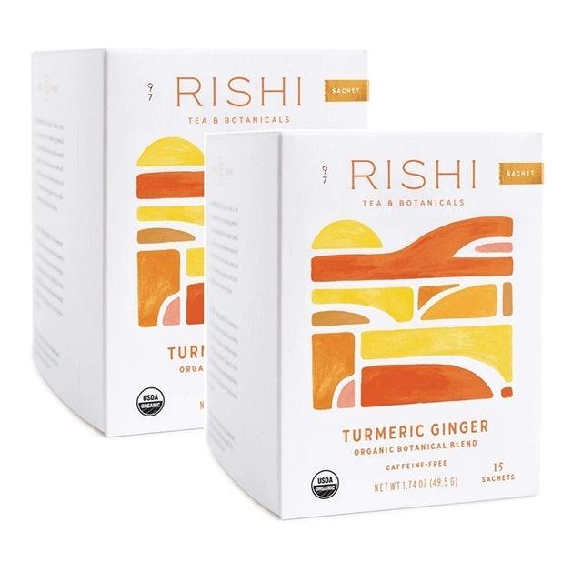 Rishi Tea Turmeric Ginger Herbal Tea 1