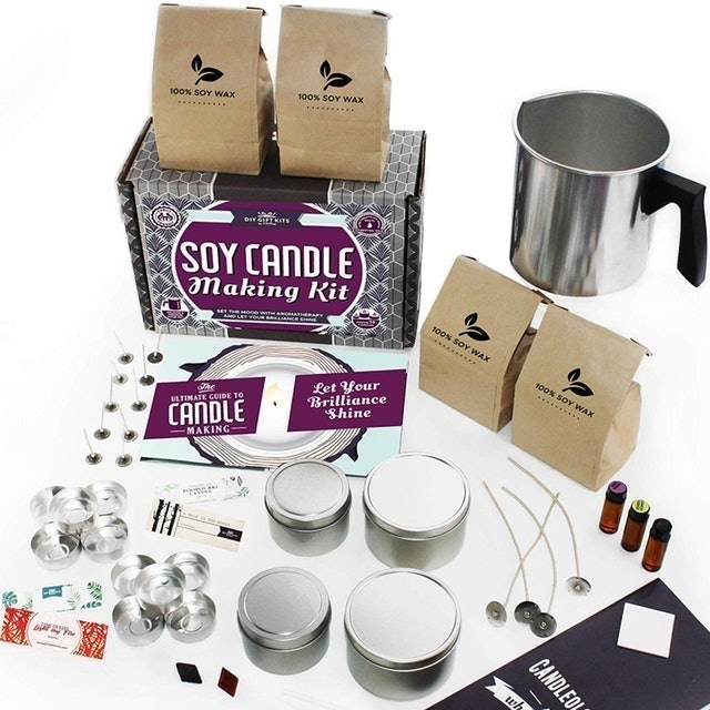 DIY Gift Kits  Soy Candle Making Kit for Adults  1