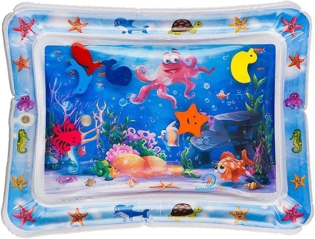 Splashn'kids Inflatable Tummy Time Water Mat 1
