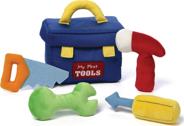 Gund Stuffed Plush Tool Set 1