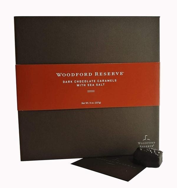 Woodford Reserve Dark Chocolate Caramels With Sea Salt 1