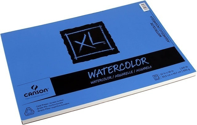 Canson XL Series Watercolor Textured Paper Pad 1