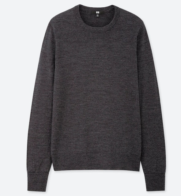 Uniqlo Extra Fine Merino Crew Neck Sweater 1