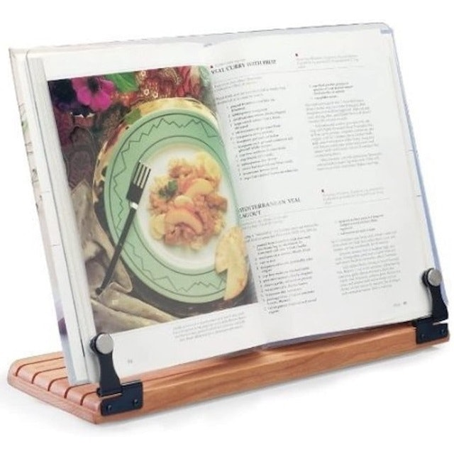 Clear Solutions Deluxe Large Cookbook Holder 1