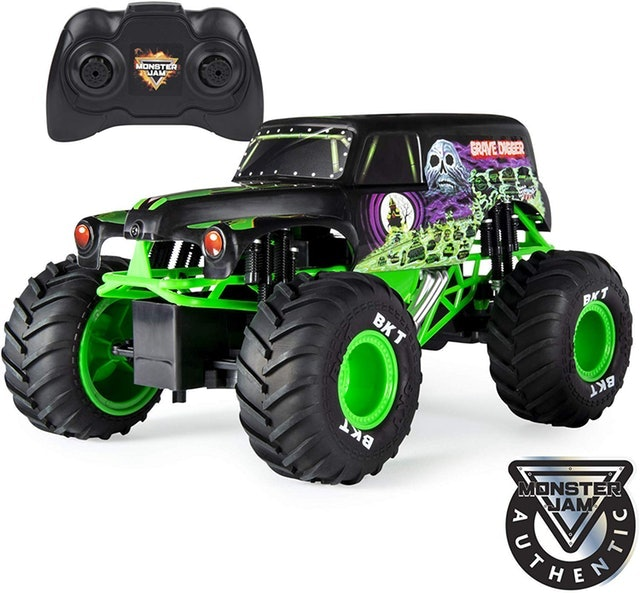 Monster Jam Grave Digger RC Monster Truck 1