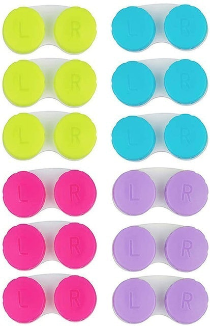 KISEER Colorful Contact Lens Case Set  1