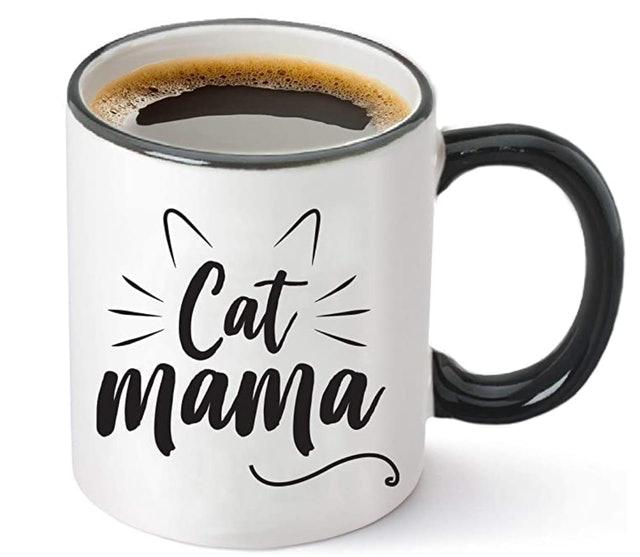 Funny Mugs, LOL Cat Mama Mug 1
