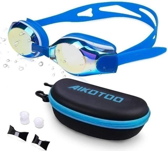 AIKOTOO Nearsighted Swim Goggles 1