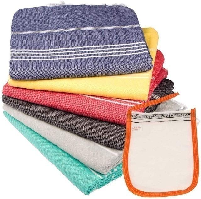 Cloth Oversized Beach Towel Set 1