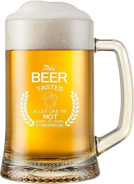 Gelid  Funny Beer Glass 1