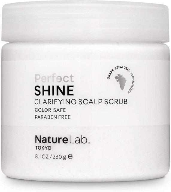 NatureLab Tokyo Perfect Shine Clarifying Scalp Scrub  1