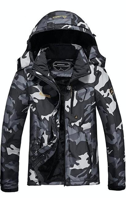Moerdeng Women's Waterproof Ski Jacket 1