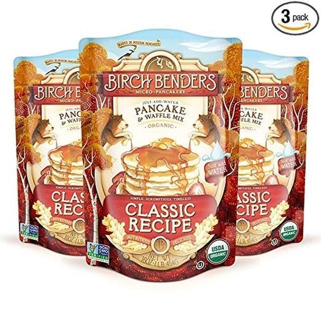 Birch Benders Organic Pancake and Waffle Mix, Classic Recipe 1