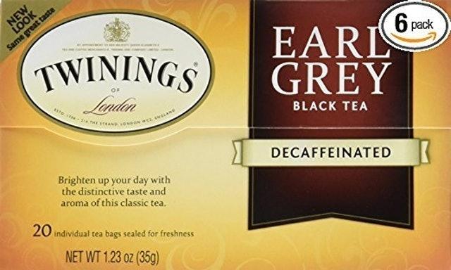Twinings Decaf Earl Grey Black Tea 1