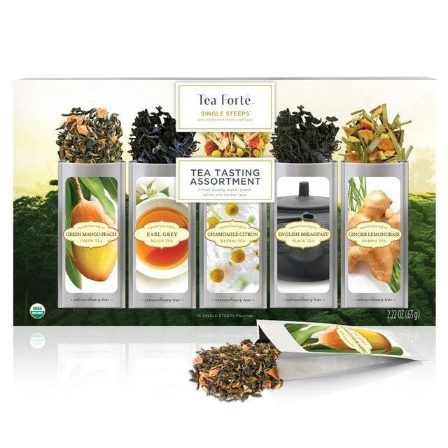 Tea Forte Organic Classic Tea Sampler 1
