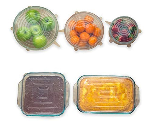Modfamily Square and Round Silicone Stretch Lids 1