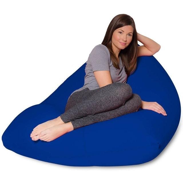Big Squishy Portable and Stylish Bean Bag Twisty Chair 1