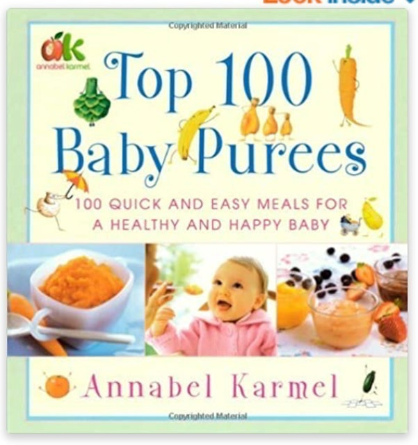 Annabel Karmel Top 100 Baby Purees 1