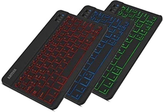 Arteck Universal Slim Portable Wireless Keyboard 1