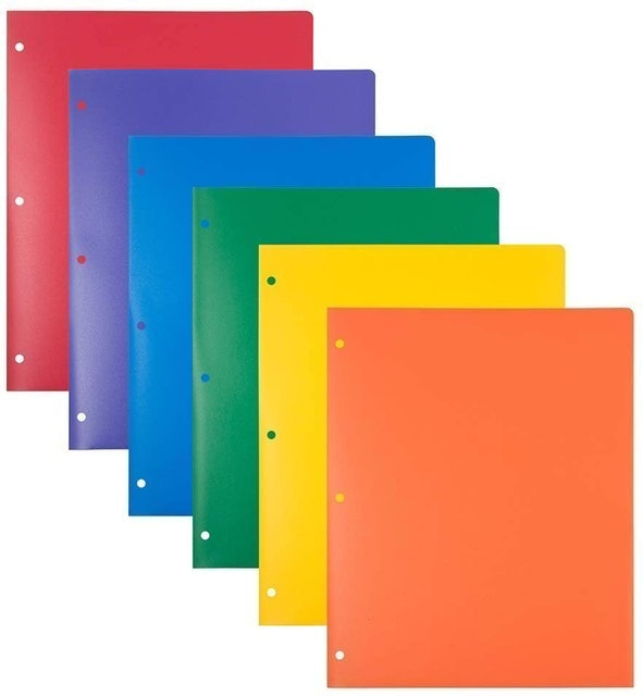 Jam Paper Extra Tough School Folders 1